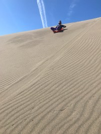 Natalie Bourn Sand Sledding