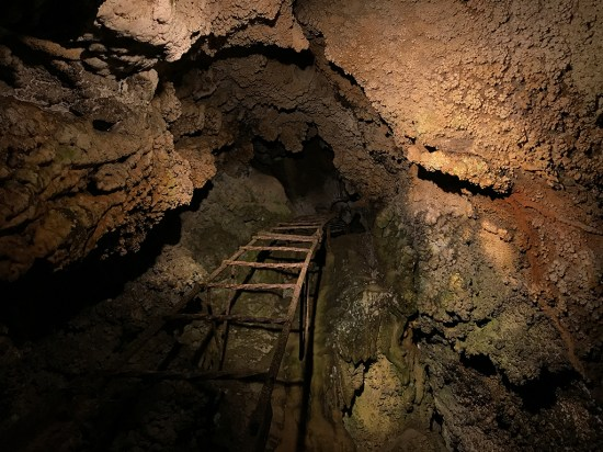 Old Cavern Entrance Ladder