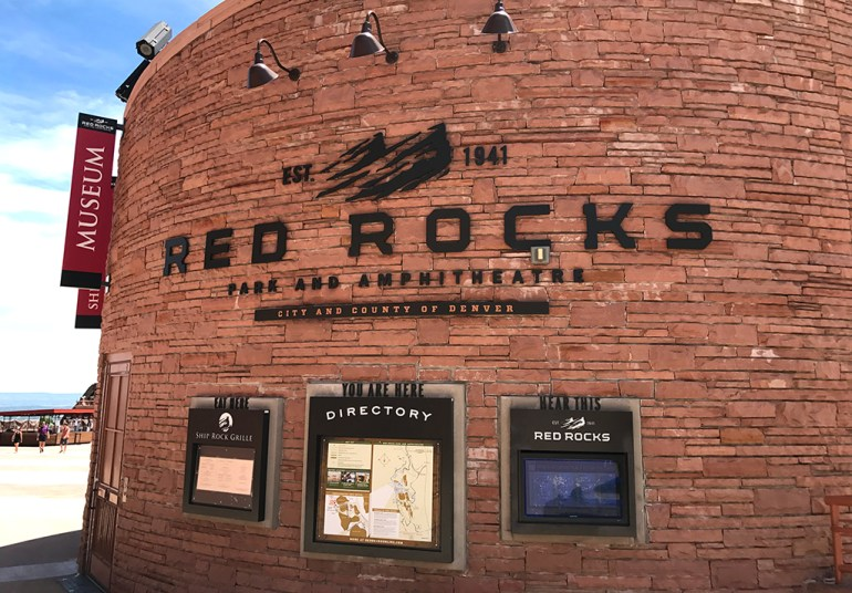 Red Rocks Park and Amphithatre