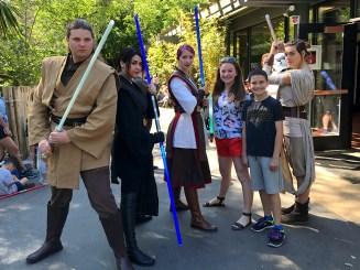 Rey at Sacramento Zoo Star Wars Day