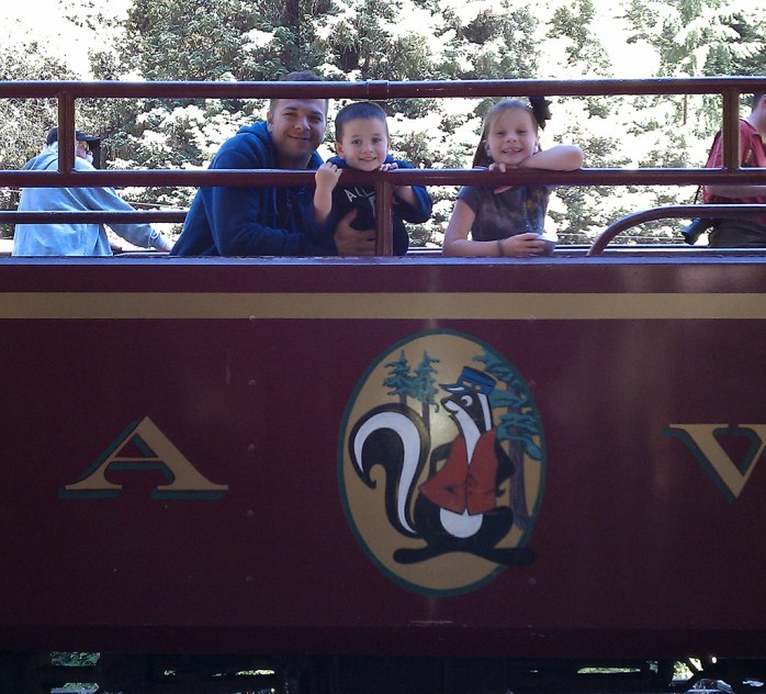 Riding the Skunk Train Through The Redwoods