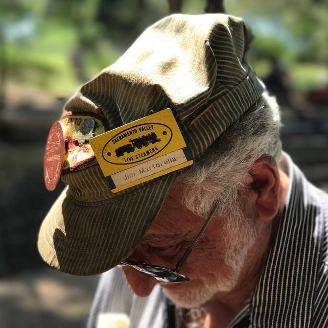 Sacramento Valley Live Steamers Member Jim Martorella