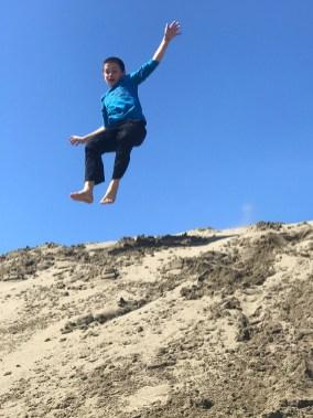Sand Dunes at MacKerricher State Park