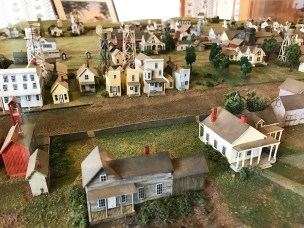 Scale Model of Historic Mendocino Village