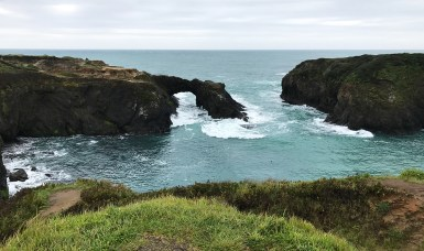 Sea Arch at the Mendocino Headlands