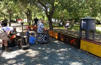 Steam Train Rides at Hagen Park in Rancho Cordova