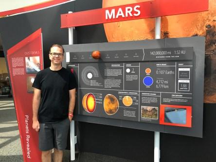 Adler Planetarium Solar System Exhibit