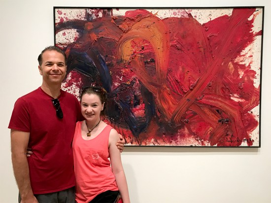 Brian and Natalie at the Art Institute of Chicago