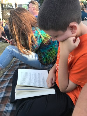 Carter Reading and the Concert