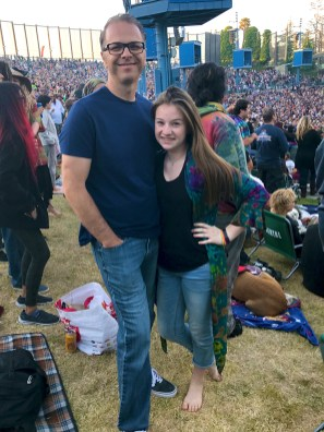 Daddy & Daughter at Dead & Company Concert