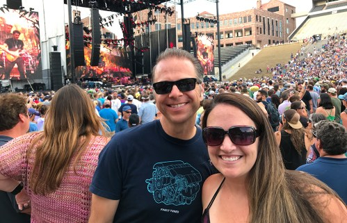 Dead & Company ay Folsom Field on June 10, 2017