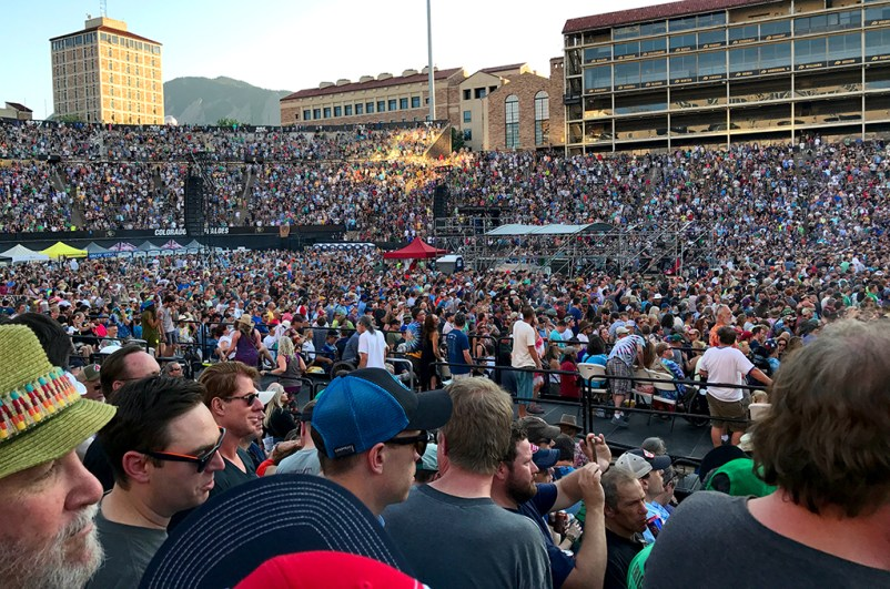 Folsom Field Concert Crowd for Dead & Company