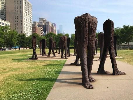 Grant Park Agora Sculpture, The Giant Legs