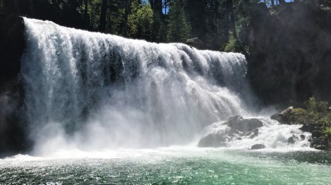 Hiking McCloud Falls on the McCloud River