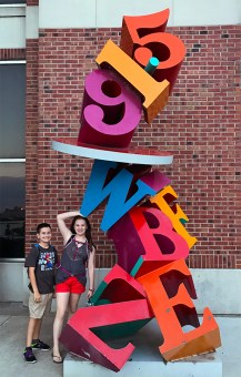 Kids Play at the Navy Pier