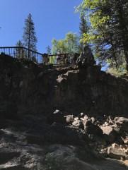 Lower McCloud Falls Picnic Area Overlook