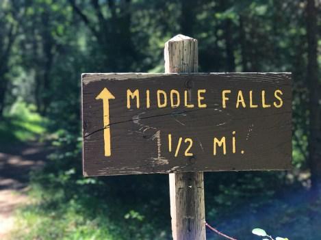 McCloud Falls Trail Sign