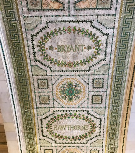 Mosaic Tile inside the Chicago Cultural Center