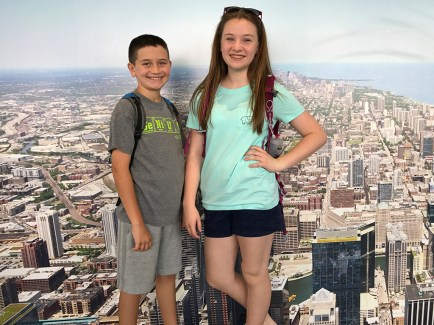 Skydeck Chicago Photo Wall