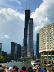 Willis Tower on the Chicago Boat Tour