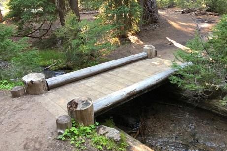 Castle Crest Wildflower Garden Trail Bridge