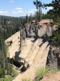 Pinnacles Trail Views of Fossil Fumeroles