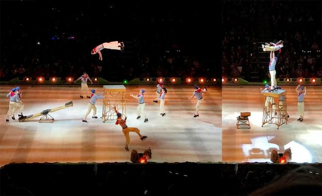 Disney on Ice Acrobatics