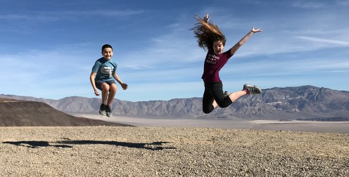 Family Road Trip to Death Valley