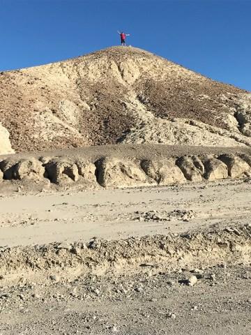 Carter Bourn Exploring the Death Valley Badlands