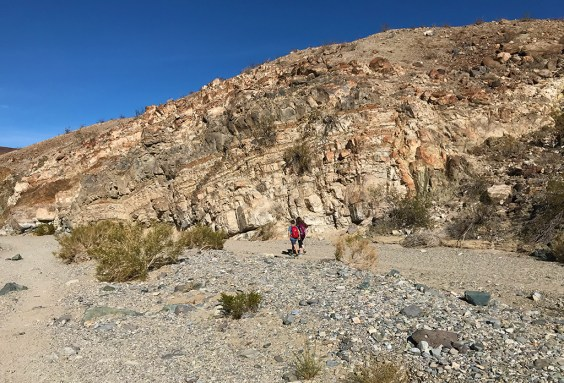 Carter and Natalie Bourn on a Desert Hike