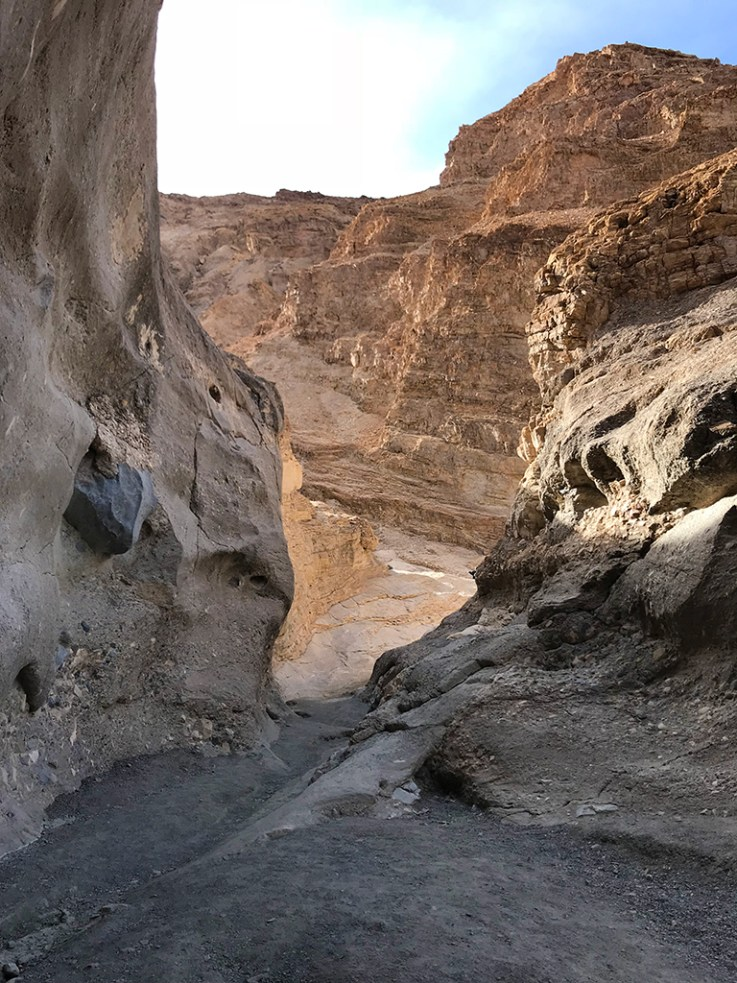 Hiking Mosaic Canyon in Death Valley National Park