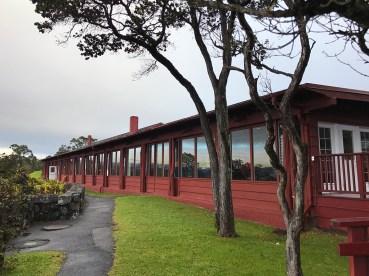 Lidging at Hawaii Volcanoes National Park