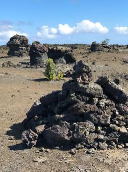 Mauna Ulu Crater Lava Molds