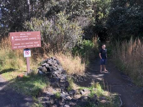 Mauna Ulu Eruption Trail