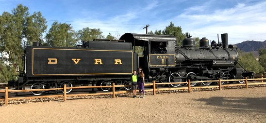 Mining Train at the Death Valley Borax Museum