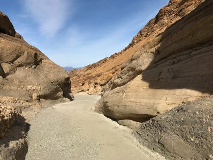 Mosaic Canyon Trail in Death Valley, California