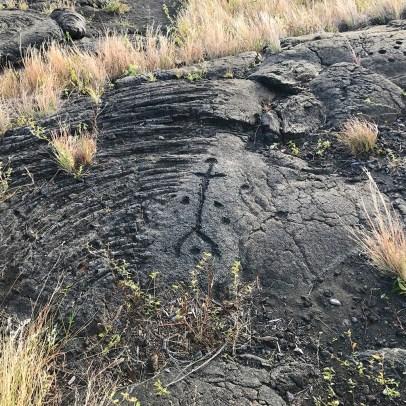 Pu'u Loa Petroglyph Field