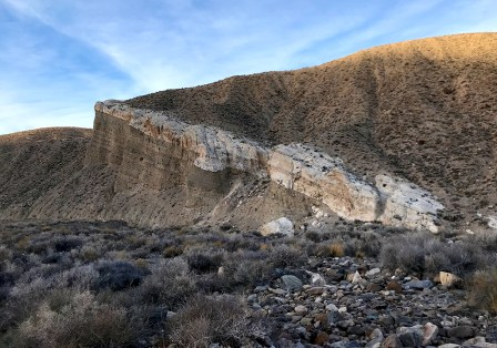Rock Formations at Death Valley National Park