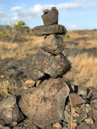 Stacked Lava Rocks