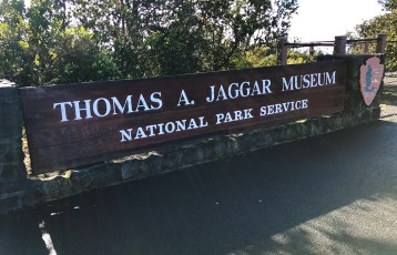 Thomas A Jaggar Museum Sign