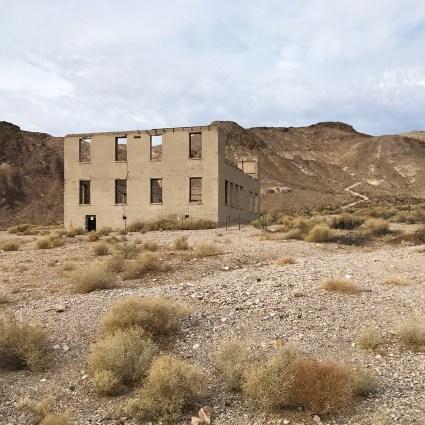 Rhyolite Abandoned School Building Ruins