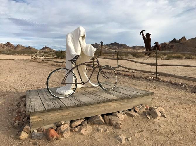 Albert Szukalski Ghost Rider Sculpture