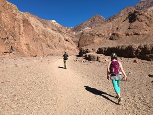 Hiking the Natural Bridge Canyon Trail in Death Valley National Park
