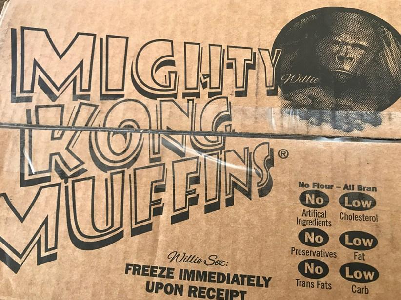 Mighty Kong Muffins Box