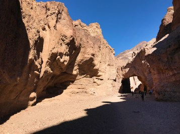 Natural Bridge in Death Valley