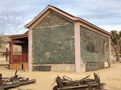 Bottle House in Rhyolite, Nevada
