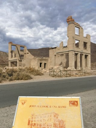 Rhyolite Ghost Town Ruins of the Bank