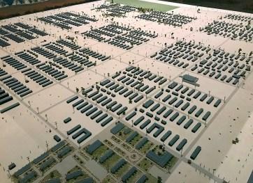 Manzanar War Relocation Center Scale Model