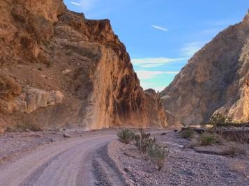 Titus Canyon Road Narrowing