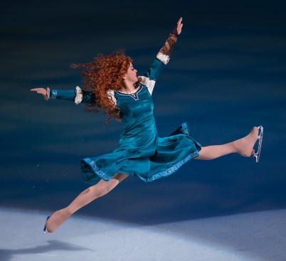 Merida From Brave In Disney On Ice at Golden 1 Center